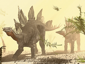 Stegosaurus © Raul Lunia. Used kindly with permission